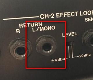 JC-120のリターン端子