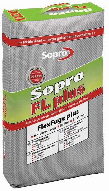 elastyczna zaprawa fugowa FL plus