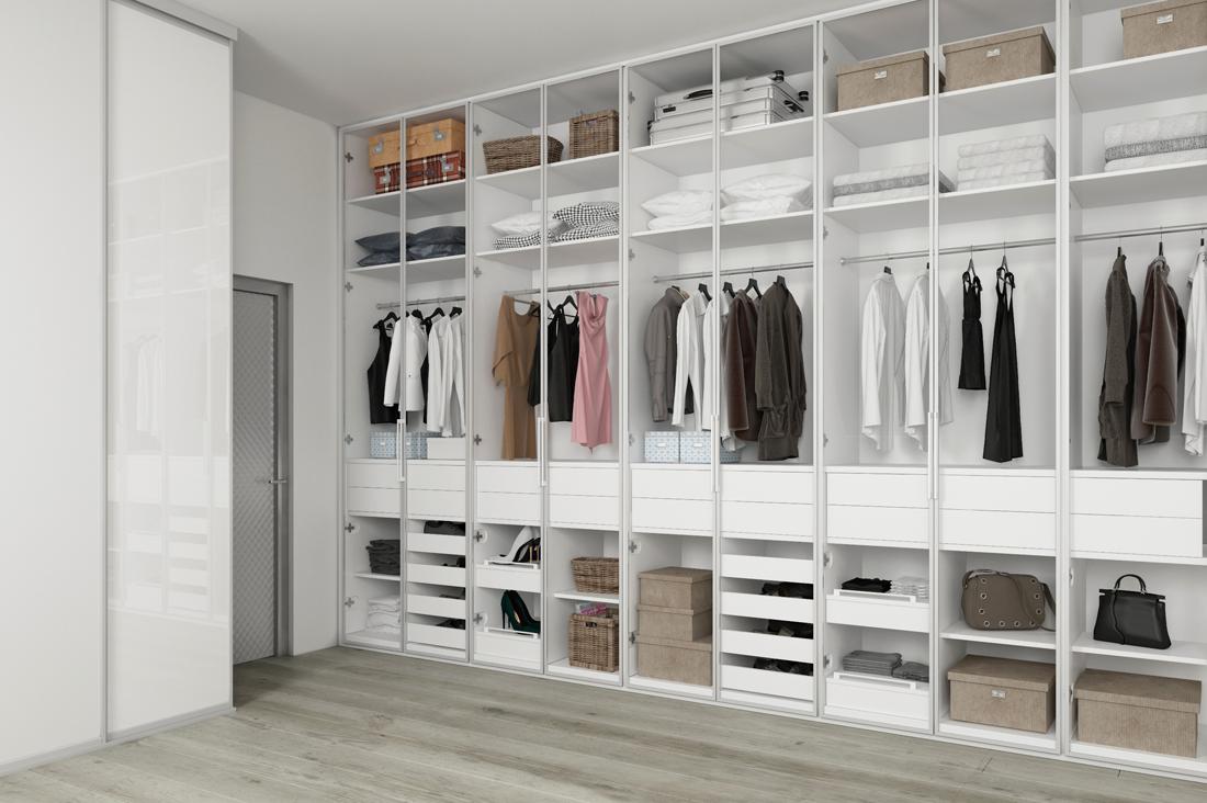 Projekt garderoby