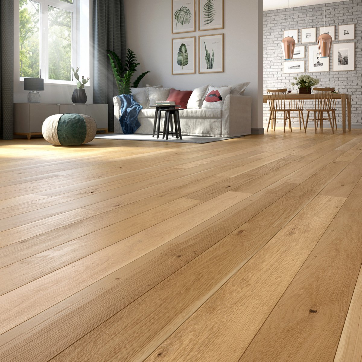 Baltic Wood Dąb Unique 1R