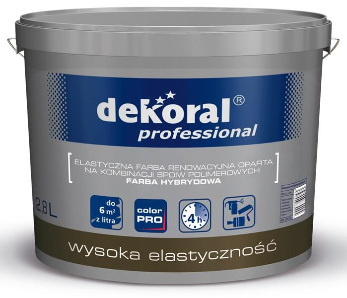 Elastyczna farba hybrydowa Dekoral Professional