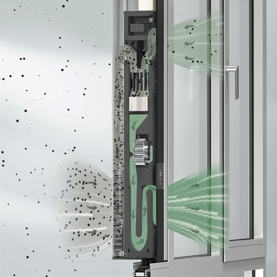 Oczyszczacz powietrza Schüco VentoLife