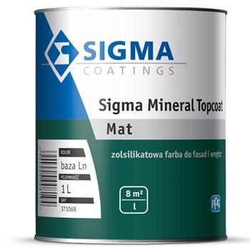 Zolsilikatowa farba Sigma Mineral Topcoat Basa LN