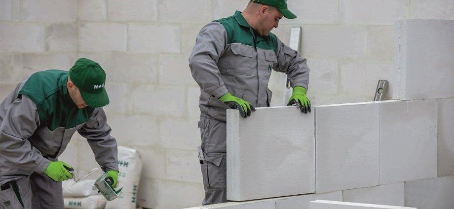 Poprawne murowanie ścian z betonu komórkowego