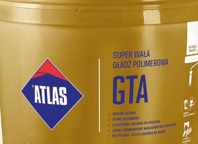 ATLAS GTA biała gładź polimerowa