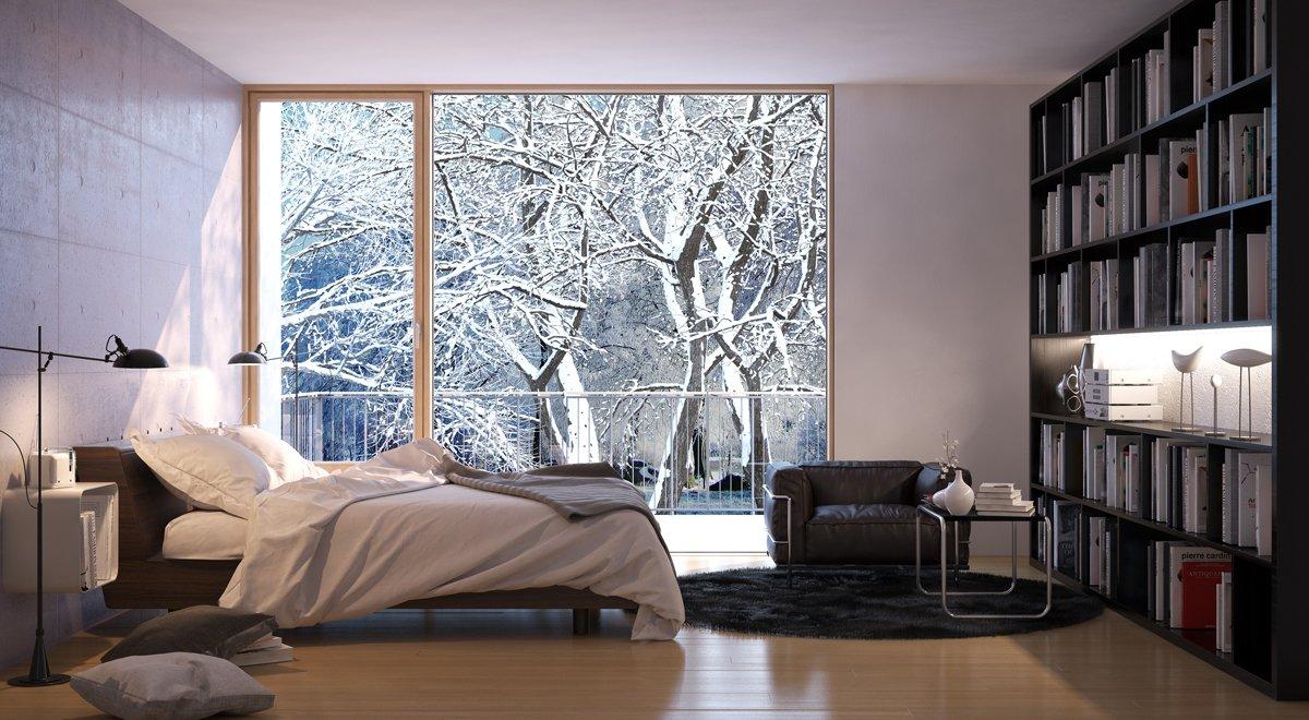 Wentylacja pomieszczeń zimą
