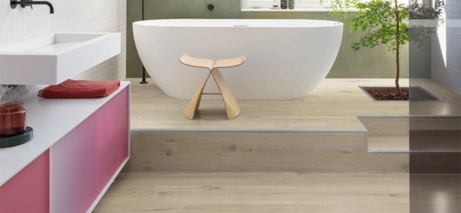 QUICK-STEP prezentuje w pełni wodoodporną podłogę ALPHA VINYL