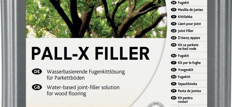 PALLMANN PALL X-FILLER – stary parkiet jak nowy!