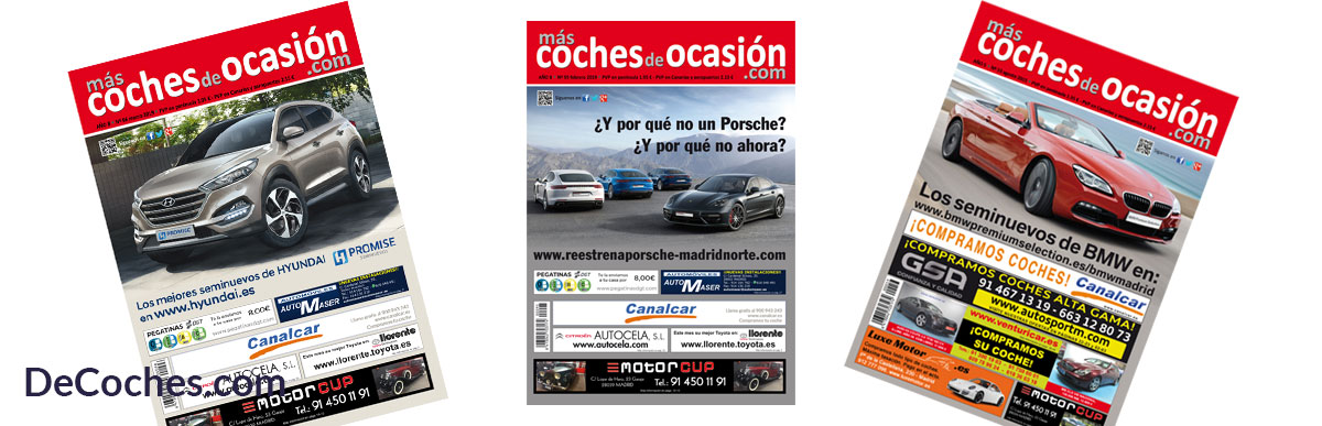Revista mas coches de ocasion