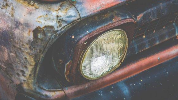 Pintura efecto óxido para coches