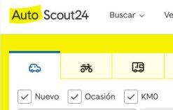 Portal anuncios Autoscout24