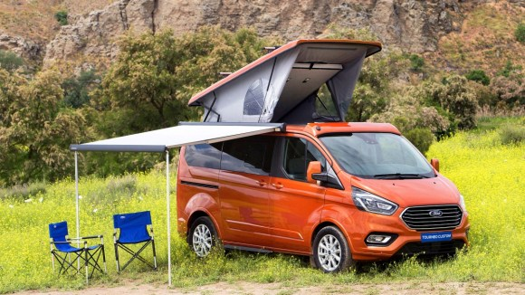 Ford Turneo Custom by Tinkervan