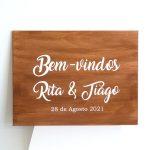 Placa Bem-vindos Personalizada_1