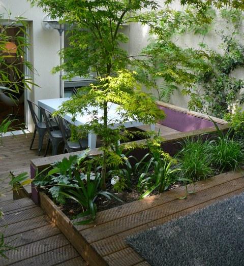 Micro jardin pour maxi effet deco 39 cot - Amenager un jardin de 200m2 ...