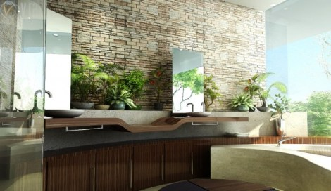 stylish-stone-look-feel-bathroom-design-ideas