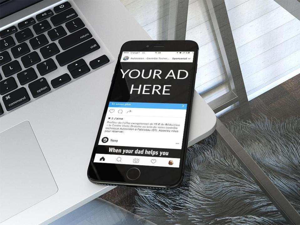Les publicités cachées sur Instagram