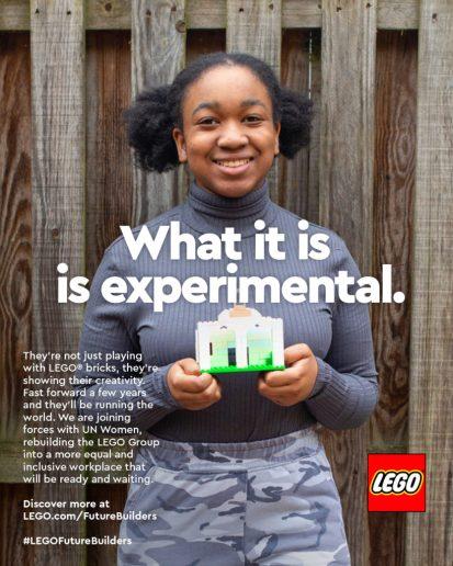Réédition: Affiches de la campagne publicitaire « What is beautiful » de Lego pour la journée de la femme