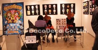 Japan Facepainting&BodyArt Show 2009_横浜赤レンガ倉庫_マスク展示_フェイスペインティングサービスの画像