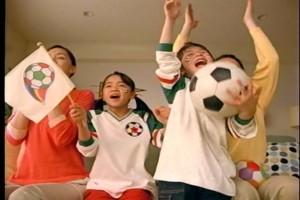 ピザハット2006テレビCMフェイスペインティング制作