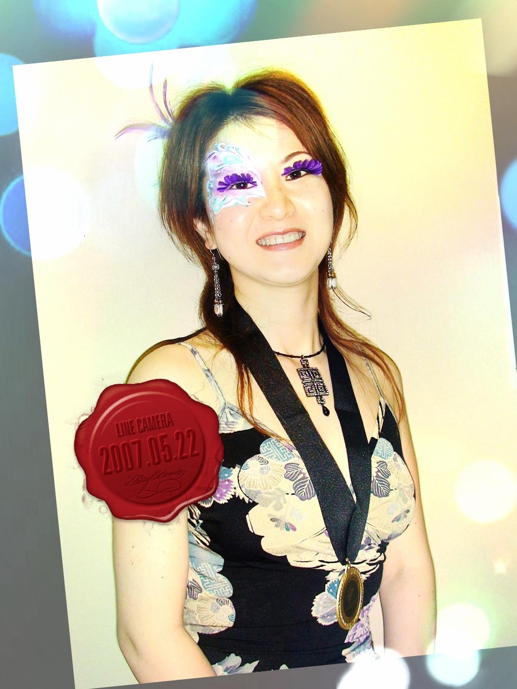 フェイス&ボディアート国際大会にて深井代表が優勝しました!