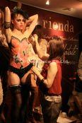 rienda リエンダ ボディペインティング ショーの画像 パフォーマンス デコデコ