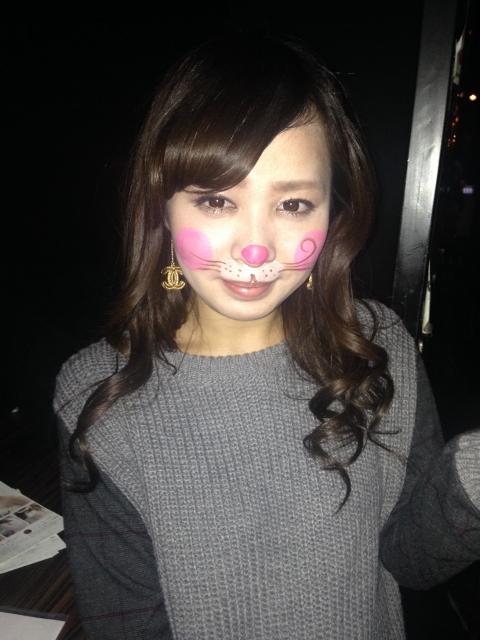 ジラフ大阪☆クリスマスイベント・ボディペインティング