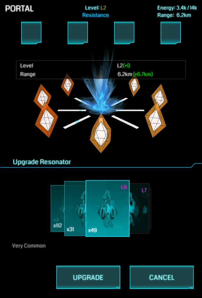 Upgrade Resonator