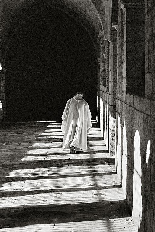 Moine cistercien.