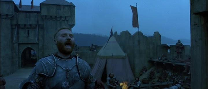 Scène du film Jeanne d'Arc