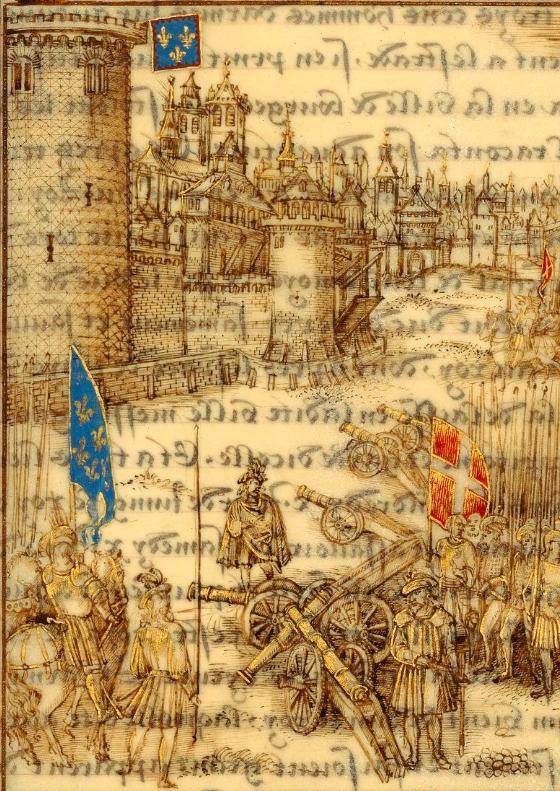 Siège de ville au XVIe siècle