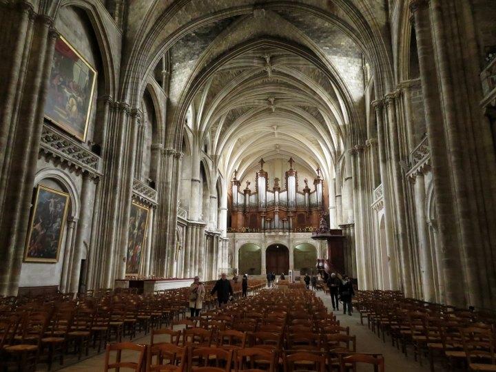 Cathédrale Saint-André de Bordeaux.