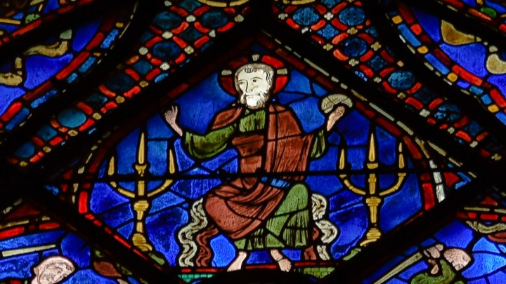 Christ aux chandeliers