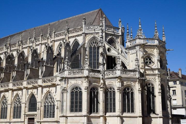 Chevet de l'église Saint-Pierre de Caen
