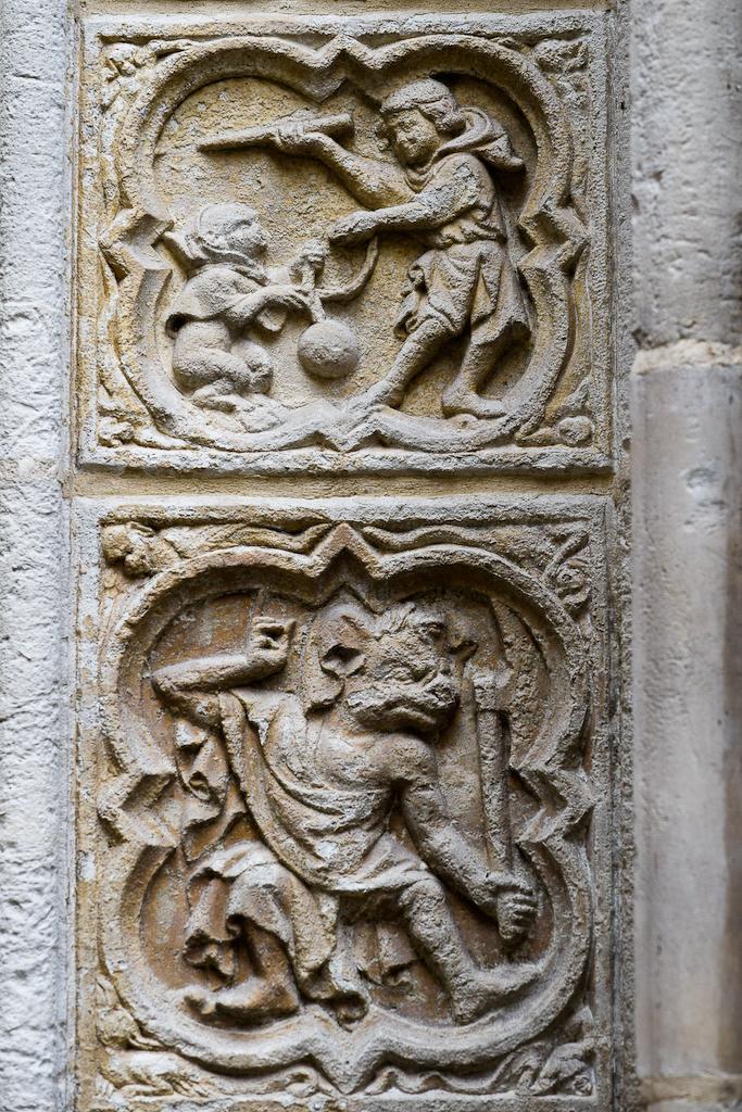 cathédrale rouen saynètes