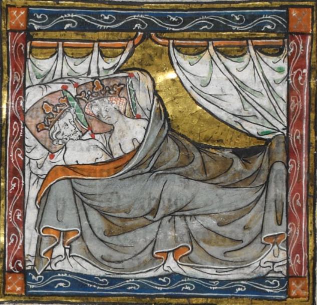 Le roi Mordrain et la reine Giseult