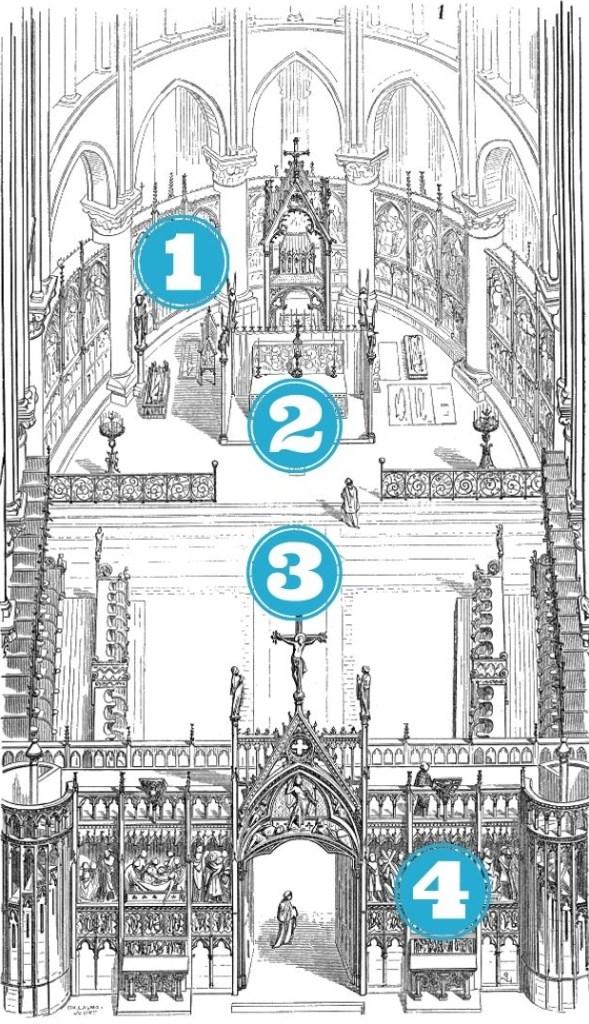 choeur liturgique de Notre-Dame de Paris