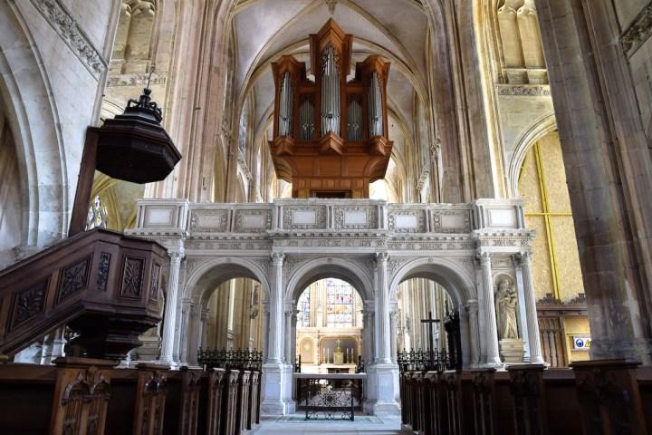 Jubé de l'église d'Arques-la-Bataille