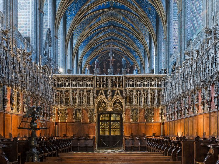 Jubé de la cathédrale d'Albi