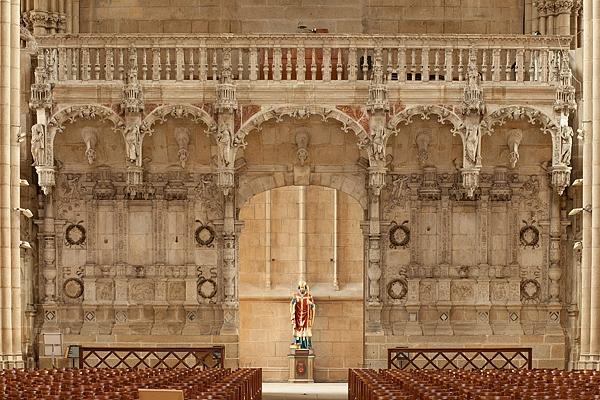 Jubé déplacé de la cathédrale Saint-Étienne de Limoges