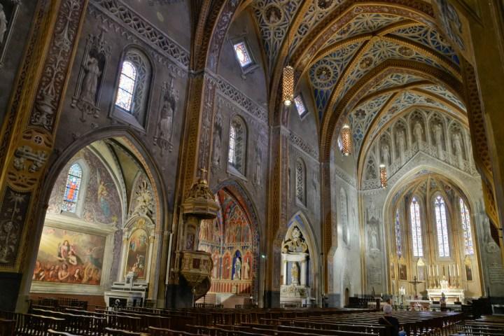 Décor peint de la cathédrale de Lavaur