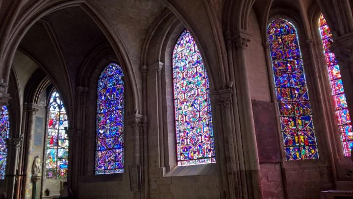Déambulatoire de la cathédrale de Bourges