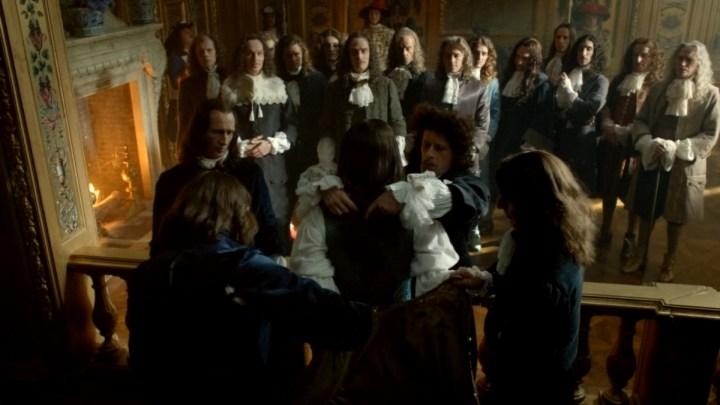 Le lever du roi Louis XIV au château de Versailles