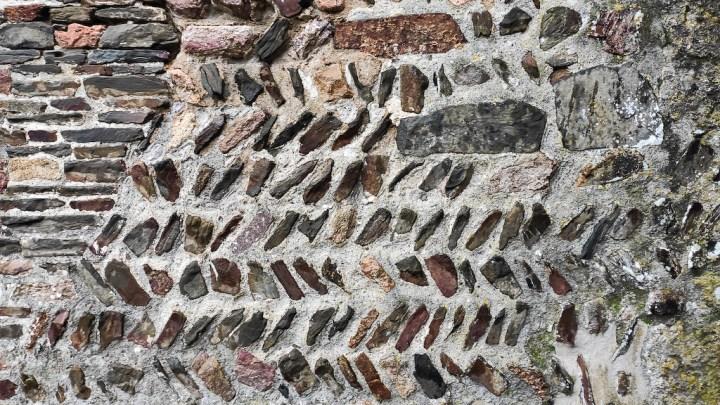 Appareil appareil de poisson, typique des églises romanes précoces