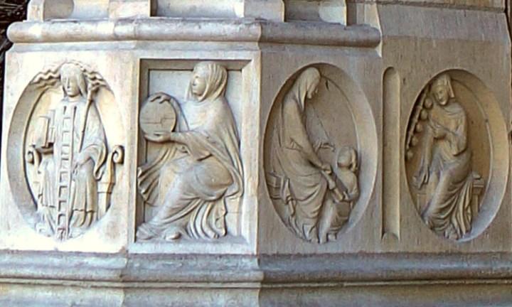 L'alchimie et les arts libéraux en sculpture