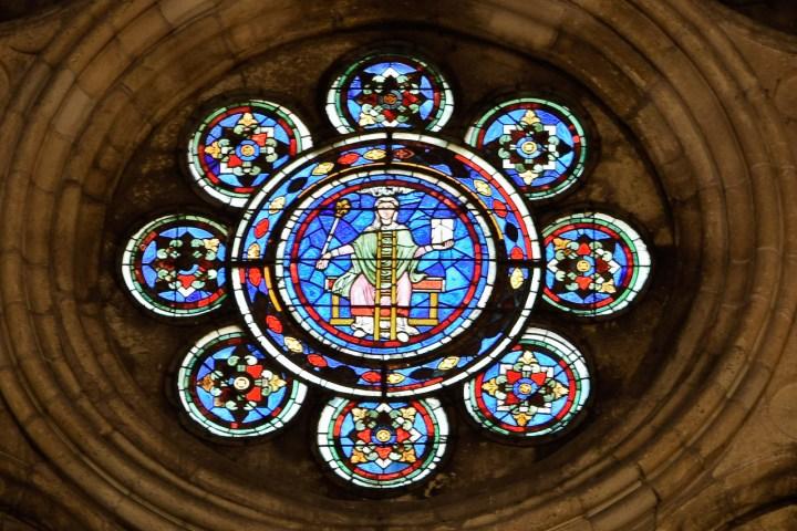 rosace de la cathédrale de Laon