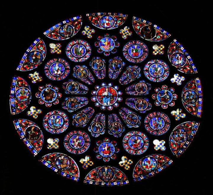 Rosace de la cathédrale de Chartres
