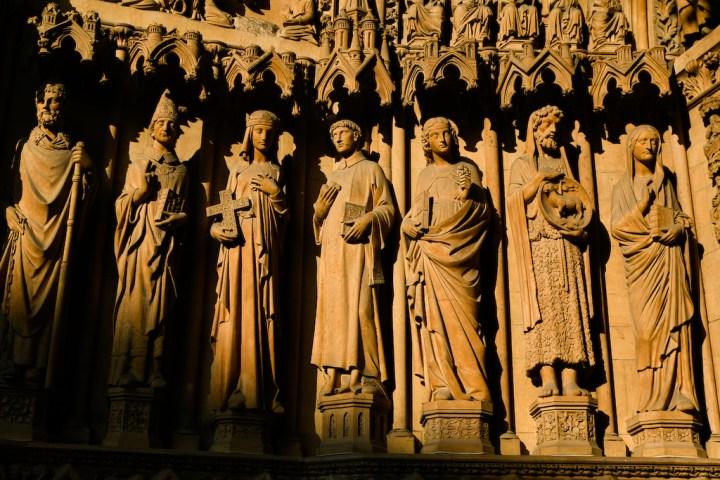 Portail de la cathédrale Saint-Étienne de Metz