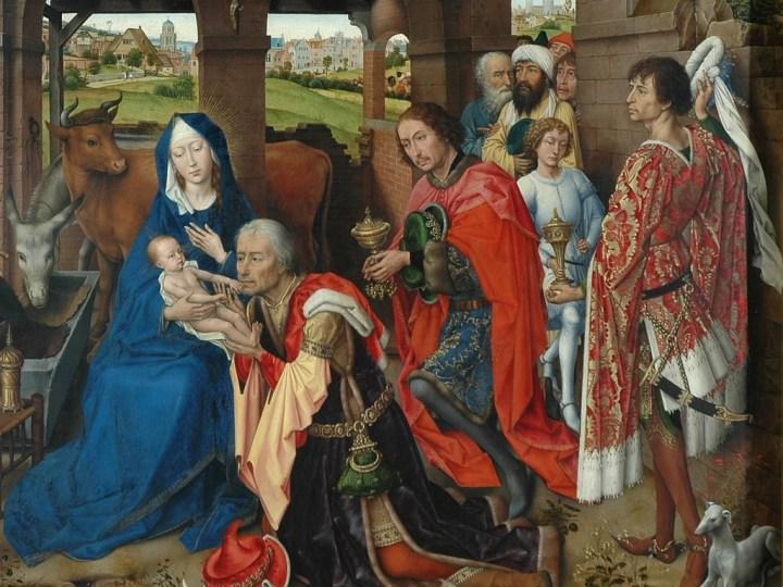 Adoration des Mages par Van der Weyden