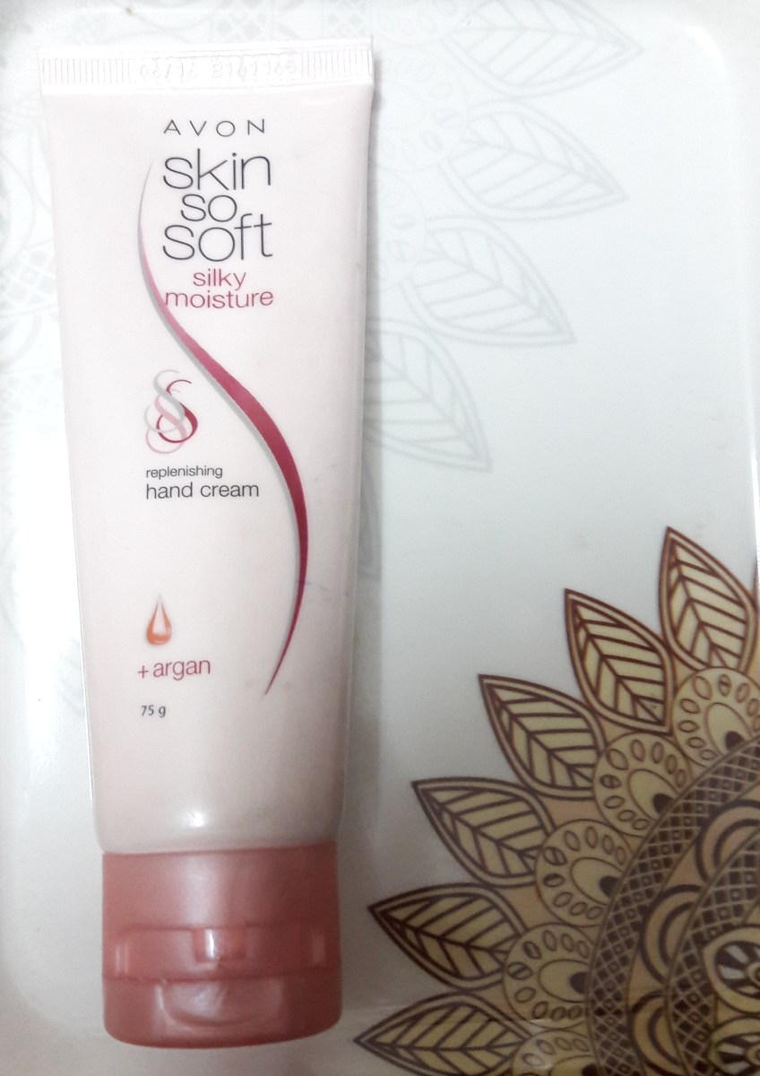 Avon Skin So Soft Silky Moisture Replenishing Hand Cream