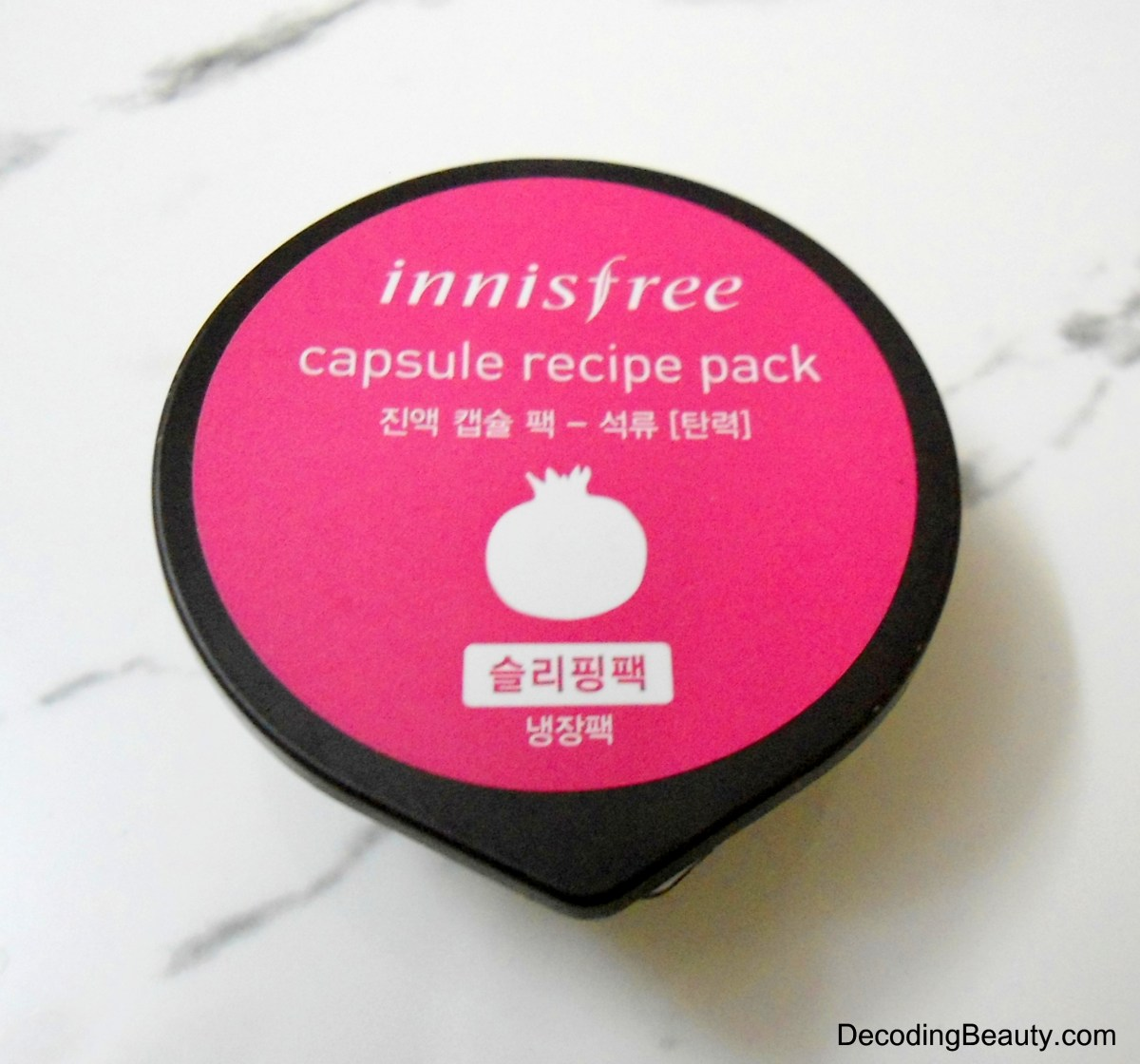 Innisfree Capsule Recipe Pack Pomegranate Review